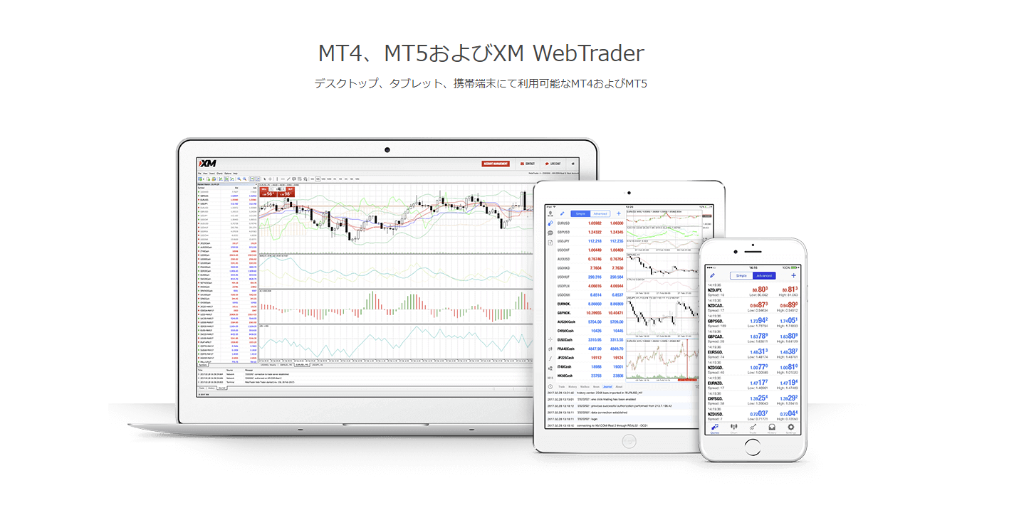 XMトレーディング MT4